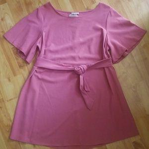 Soft Pink Spring Dress